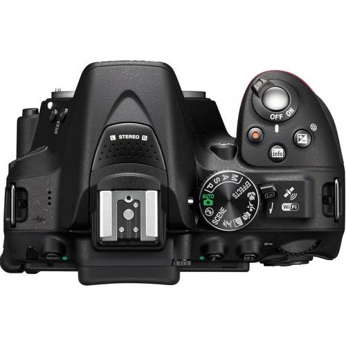 nikon-d5300-camera-top-view